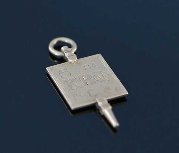 10K Yellow Gold Kappa Beta Phi Key, Circa 1960