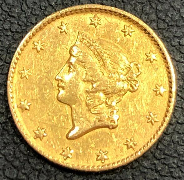 Liberty Head $1 Gold Type 1