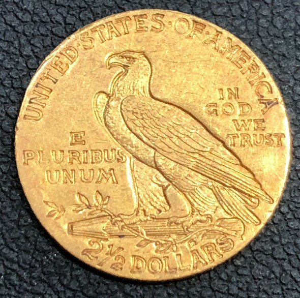 1911 $2.50 Gold Quarter Eagle