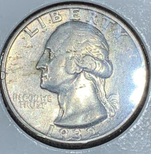 1932-S Washington Silver Quarter