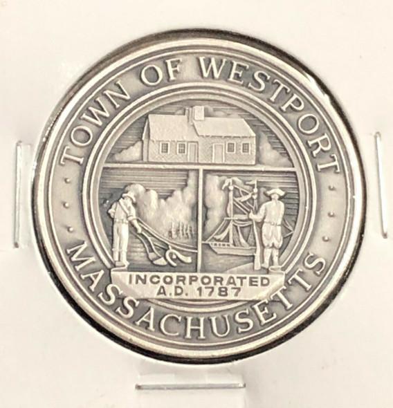 Town of Westport, Massachusetts Sterling Round
