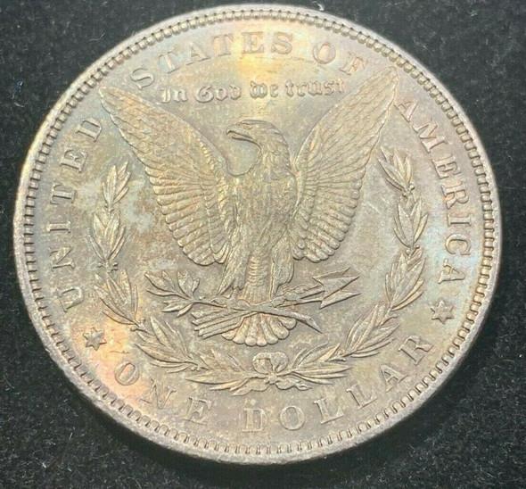 1897 Silver Morgan Dollar Toned