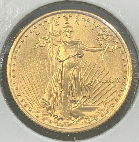 1989 1/4 oz $10 Gold Eagle