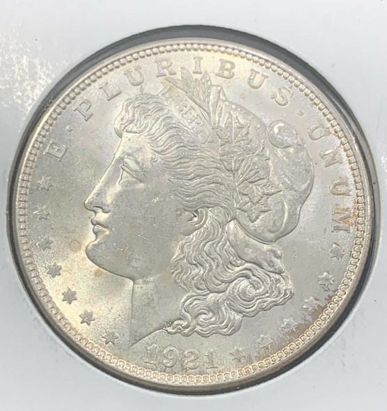 1921 Silver Morgan Dollar Uncirculated