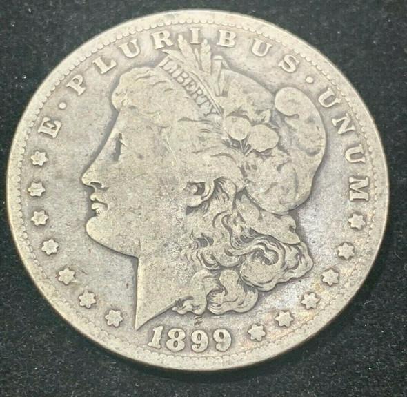 """1899-O Silver Morgan Dollar """"Micro O"""""""