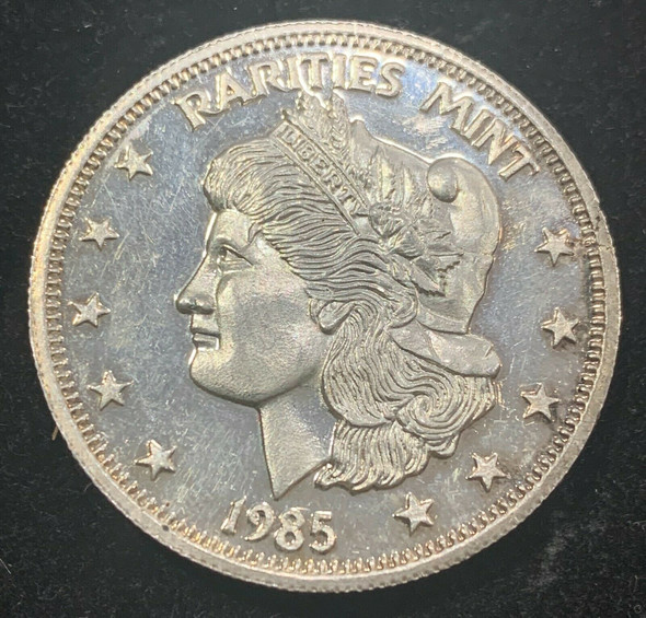 Rarities Mint 1985 1 oz .999 Silver Round