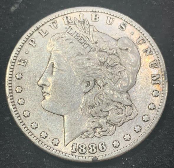 1886-S Silver Morgan Dollar