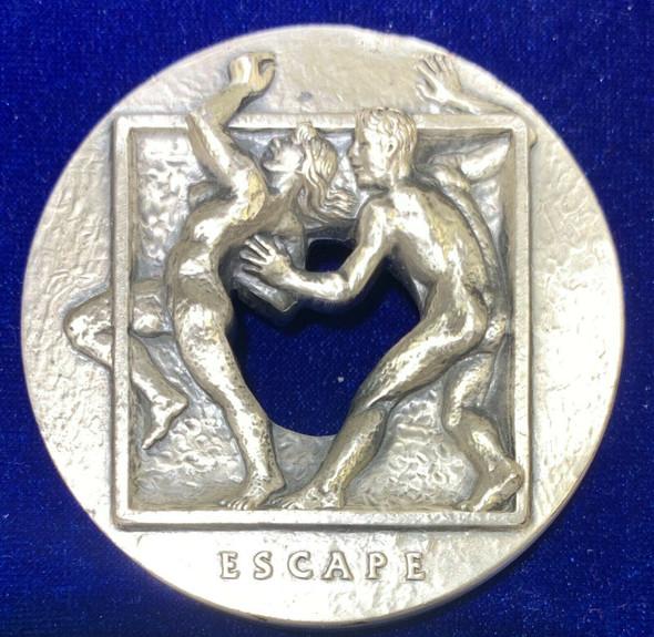 "1985 Society of Medalist No. 112 Issue ""Capture"" by Richard McDermott Miller"