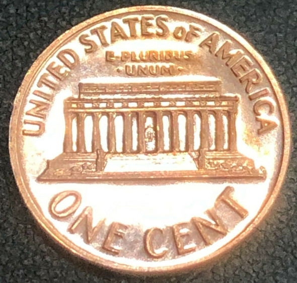 1970-S Lincoln, Memorial Reverse Proof Small Date Variety