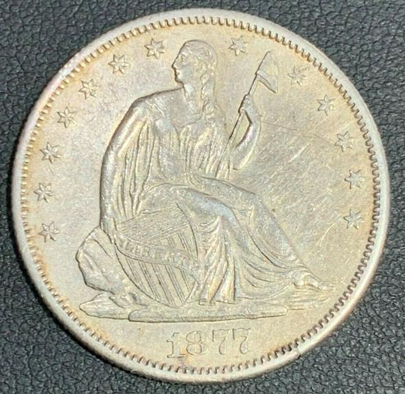 1877-S Seated Liberty Half Dollar