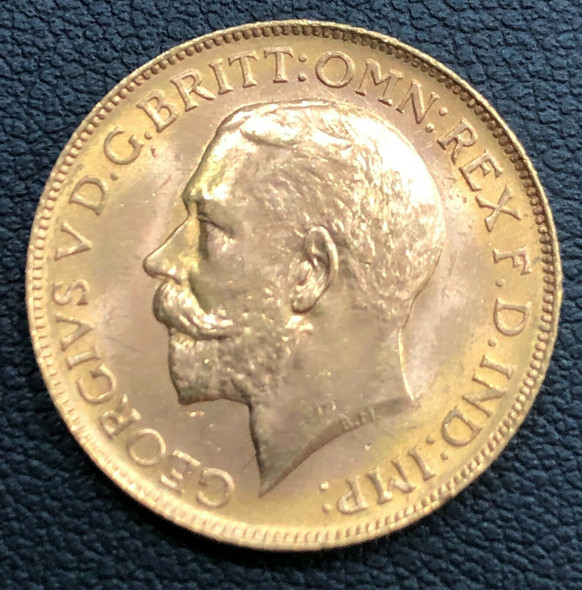 Canada 1911-C George V Gold Sovereign