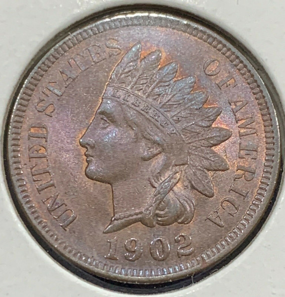 1902 Indian Head Cent Gem BU