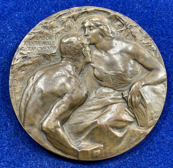 1906 Milan Labor Scientific Medal