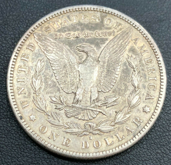 1886-S Silver Moran Dollar