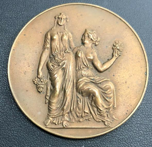 Massachusetts Horticultural Society Bronze Medal in Original Box