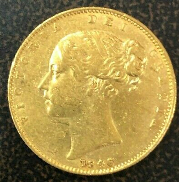 1846 Great Britain Gold Sovereign