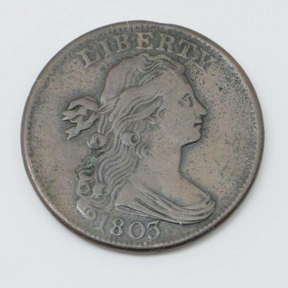 1803 Draped Bust Cent