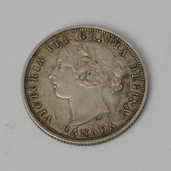 1858 Canada Twenty Cents
