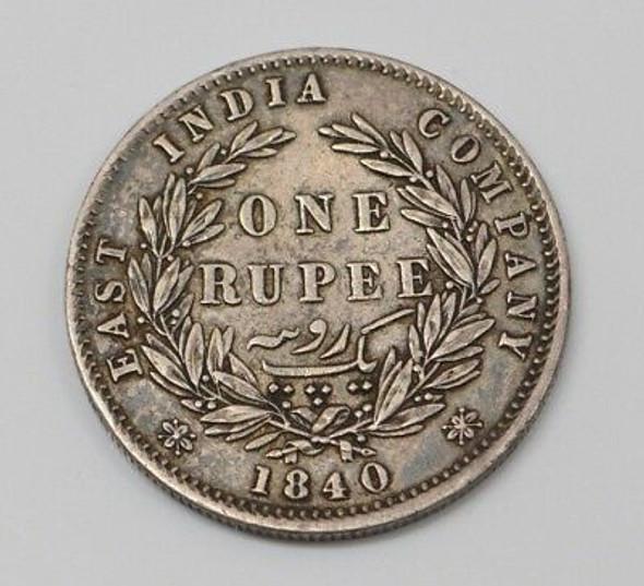 1840 East India Company Rupee
