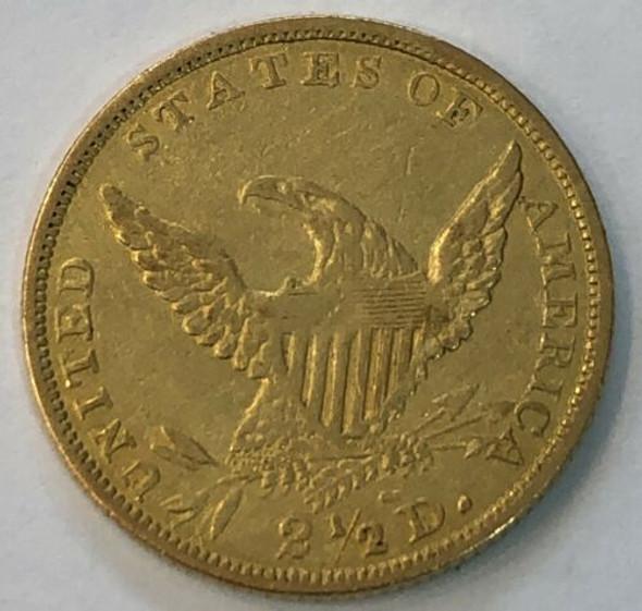 1836 $2 1/2 Gold Classic Head