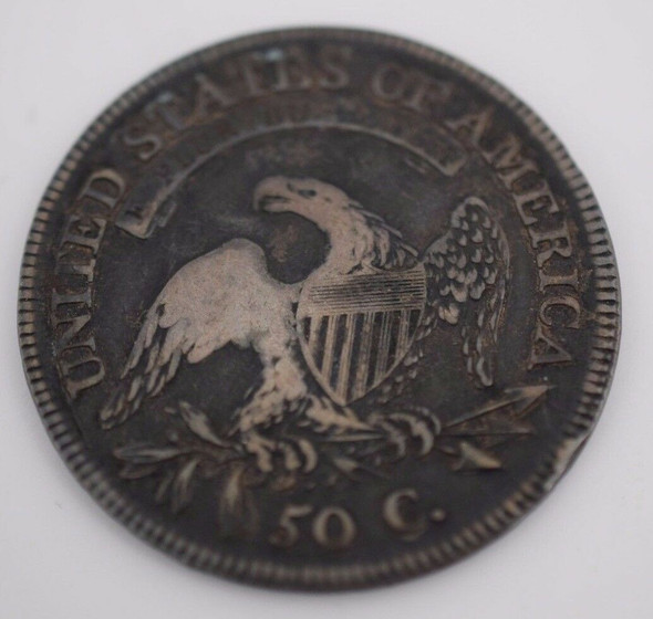 1810 Capped Bust Half Dollar Lettered Edge, O102z R2