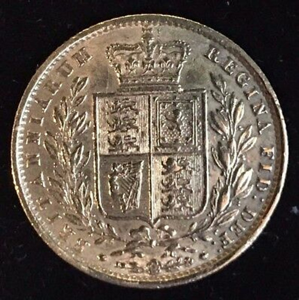 1857 Great Britain Sovereign
