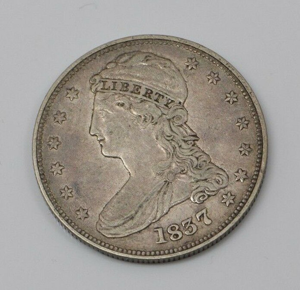 1837 Capped Bust Half Dollar