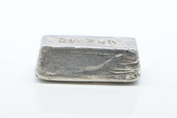 ASARGO Poured Silver Bar .999 Fine, 147.9 Grams
