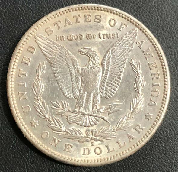 1898-S Morgan Silver Dollar