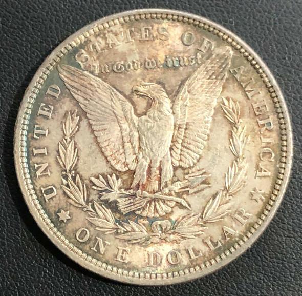 1880 Morgan Silver Dollar Toned