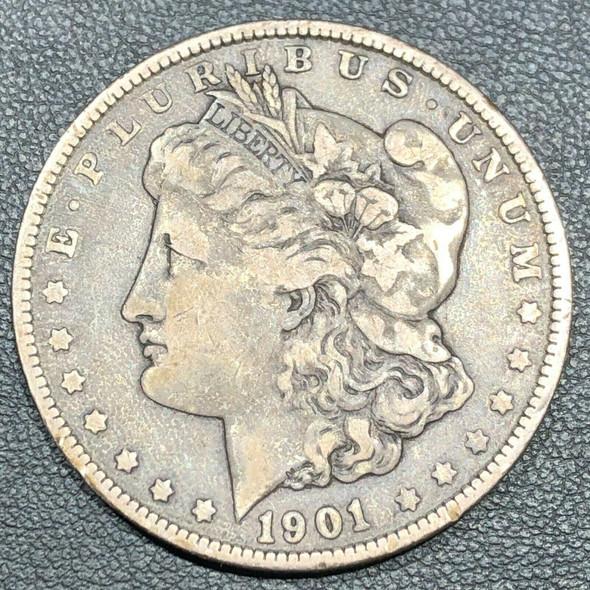 1901 Silver Morgan Dollar