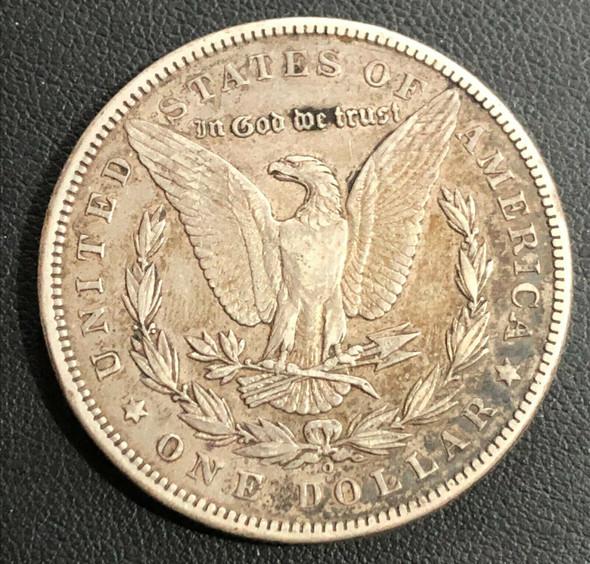 1899-O Morgan Silver Dollar (Micro-O)