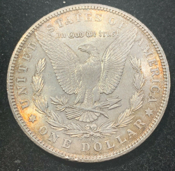 1904-O Silver Morgan Dollar- Toned