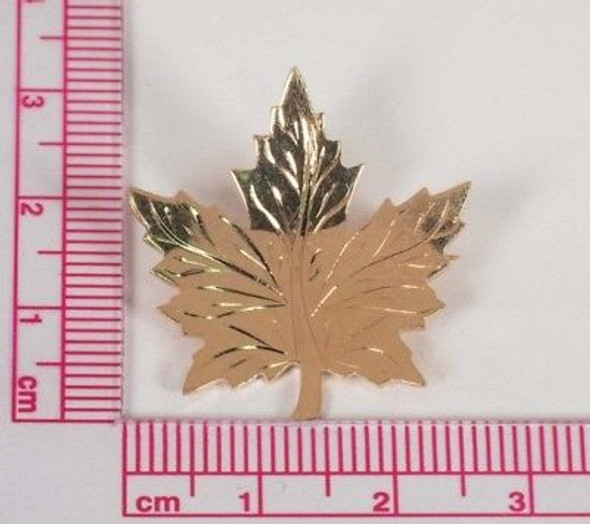 "14K Yellow Gold ""Maple Leaf"" Brooch/Pin"