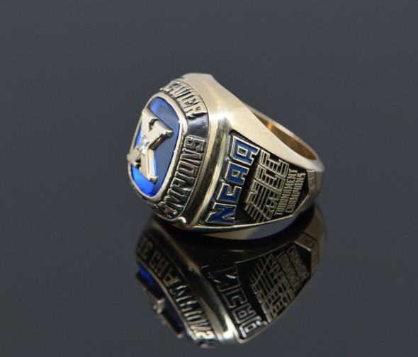 10K Yellow Gold Men's 1990-91 Xavier NCAA Tournament Champion Ring, Size11