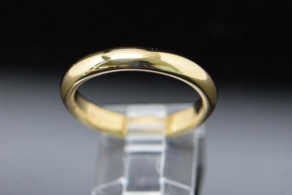 Men's 18K Tiffany Yellow Gold Band, Size 10.5