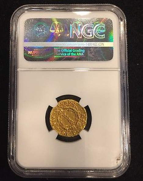 Nero, AD 54-68 Roman Empire AV Aureus rv EX SC in Oak Wreath Gold Coin