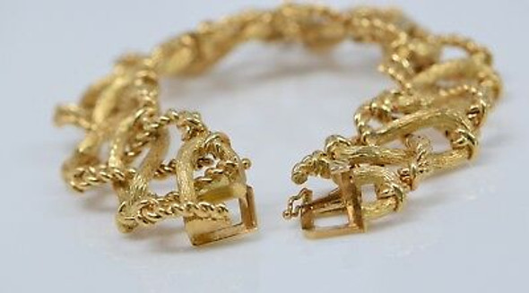 18K Yellow Gold Tiffany & Co. Jean Schlumberger Bracelet, Circa 1970