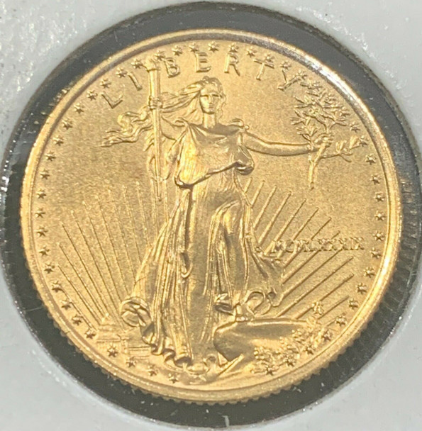 1989 1/4 oz $10 Gold Eagle