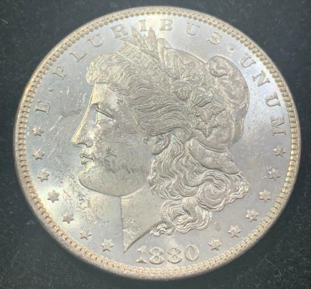 1880 Silver Morgan Dollar