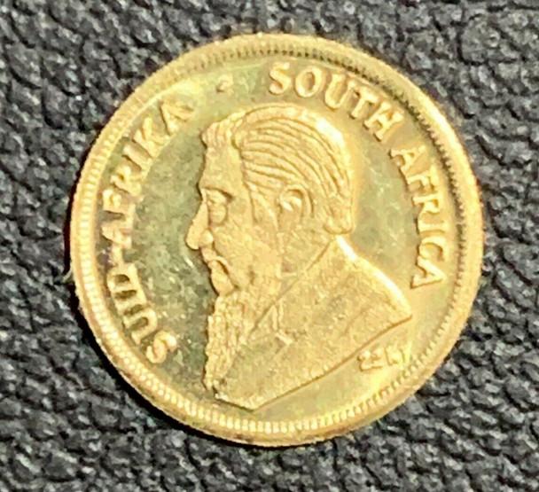 14K Gold Miniature 1980 Kruegerrand Gold 1 oz Coin #3