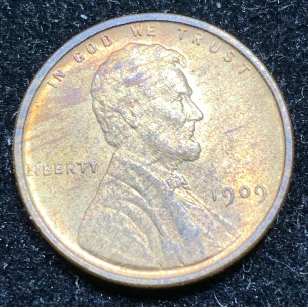 1909 VDB Lincoln Wheat Cent