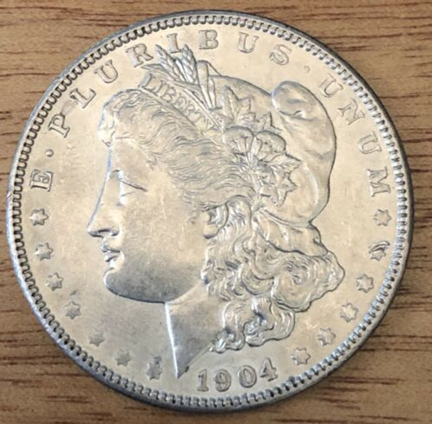 1904 Silver Morgan Dollar