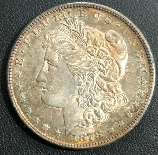 1878-S Moran Silver Dollar Toned!