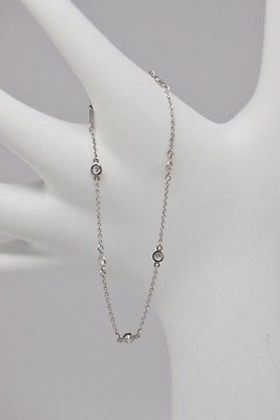 .950 Platinum Tiffany & Co. Peretti Diamond Bracelet
