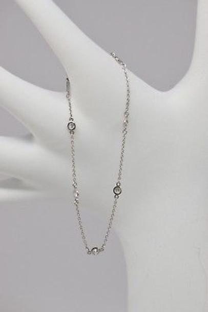 .950 Platinum Tiffany & Co. Peretti Diamond Bracelet
