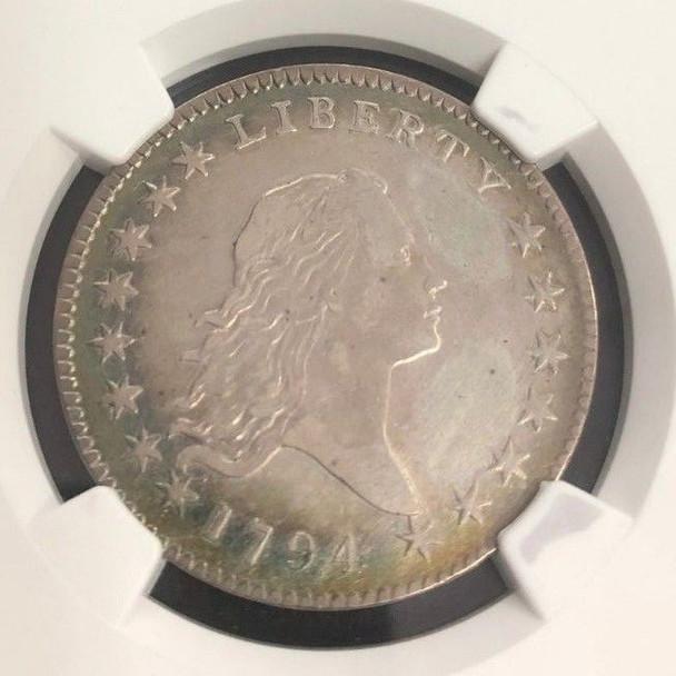 1794 Flowing Hair Half Dollar NGC XF Details