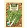 This standard Swiss chard yields medium green leaves accented with white veins on broad white stems. Use the tender baby leaves in salads or full size for cooking.