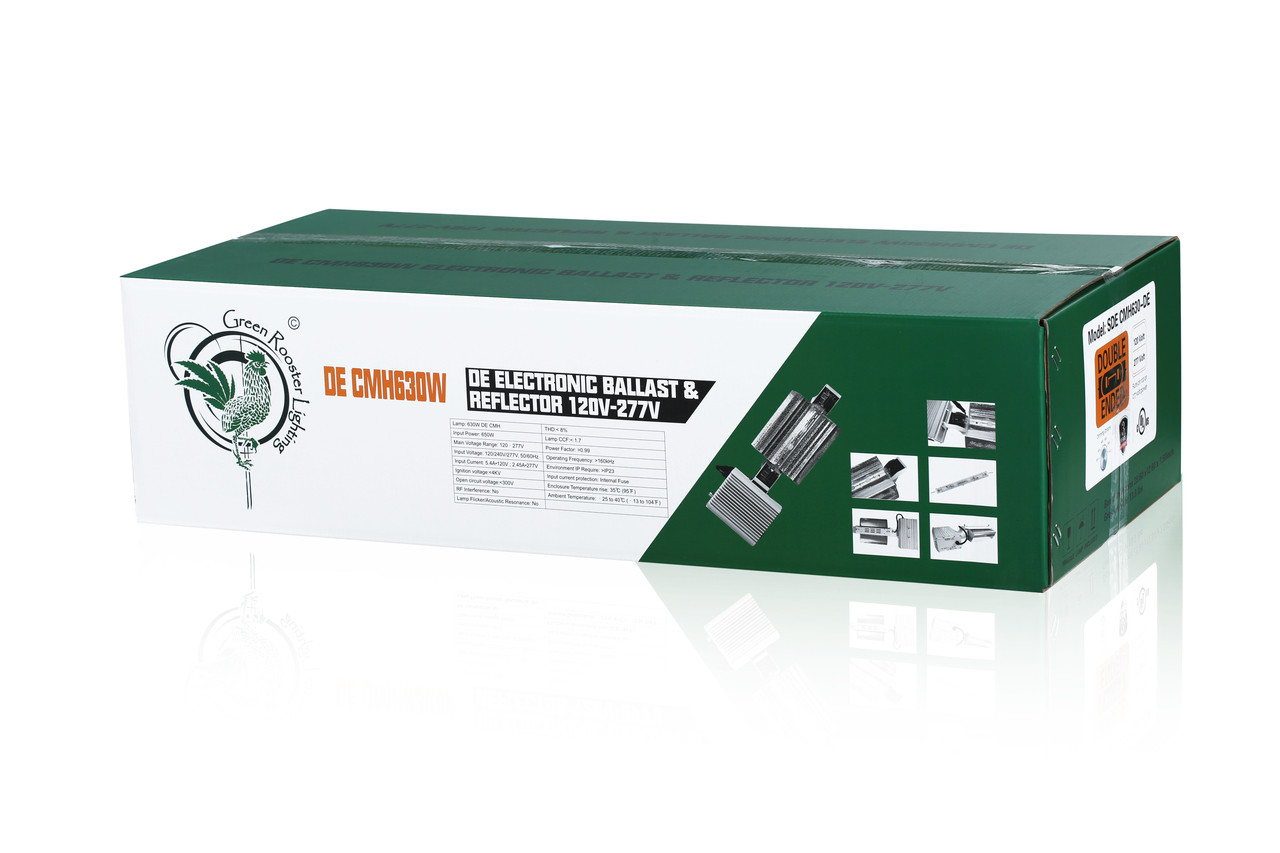 Green Rooster 630 DE CMH