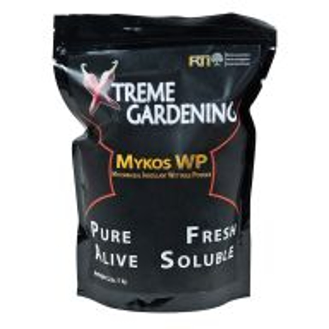 Mykos WP (wettable powder) is a versatile, highly effective milled version of Mykos that rapidly inoculates plants. Mykos WP can be applied as a supplemental source of mycorrhizae to plants that have been inoculated with Mykos but have since been treated with multiple applications of conventional chemical fertilizers.